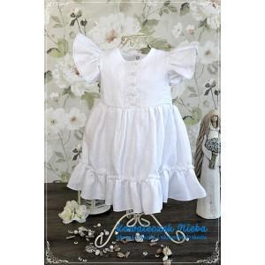 Sukienka do chrztu Lenka