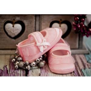 Pantofelki różowe