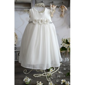 Sukienka do chrztu Kati ecru